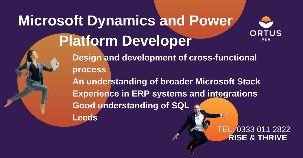 Microsoft Dynamics and Power Platform Developer