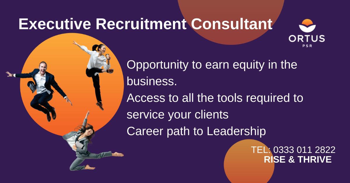 Executive Recruitment Consultant