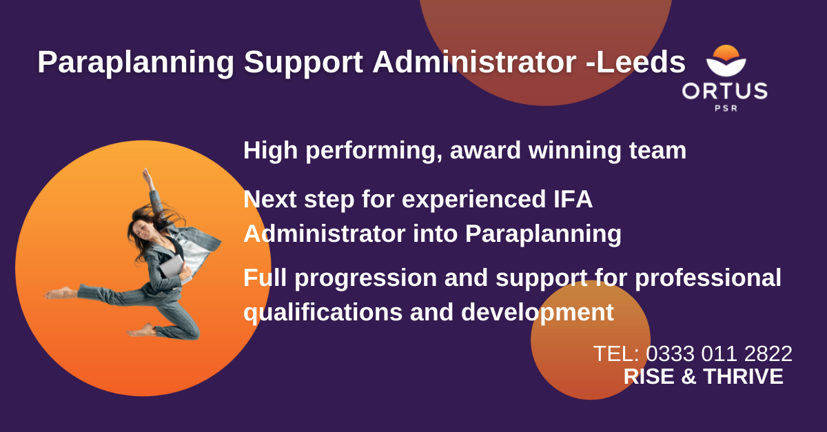 Paraplanning Support Administrator